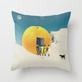 – another dimension Throw Pillow