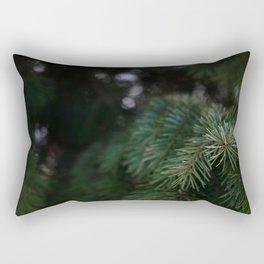 Colorado Pine Tree Rectangular Pillow