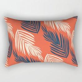 Orange Palms Rectangular Pillow
