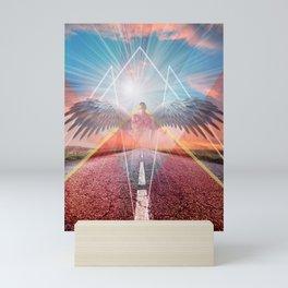 the angel  Mini Art Print