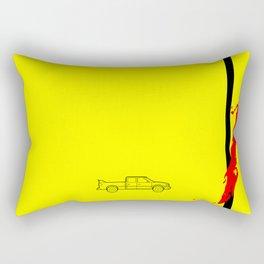 Pussy Wagon Rectangular Pillow