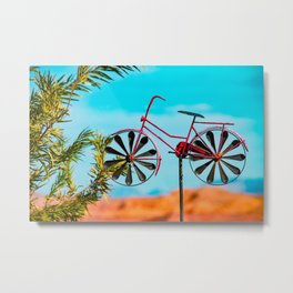 Riding High - I Metal Print