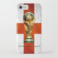 world cup iPhone & iPod Cases featuring World Cup by Rothko
