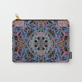 Mandala Water Dissolving into Earth Carry-All Pouch