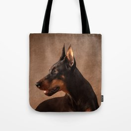 Dobermann - Doberman Pinscher Tote Bag