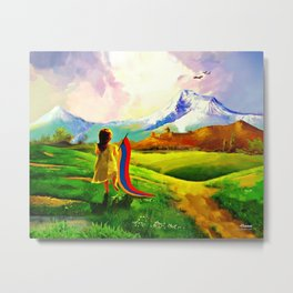 Children of Armenia Metal Print