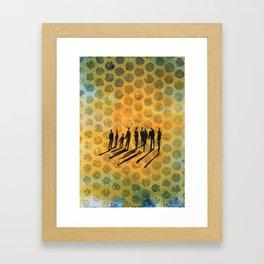 Dotting the I's Framed Art Print