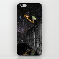 saturn iPhone & iPod Skins featuring Saturn by Cs025