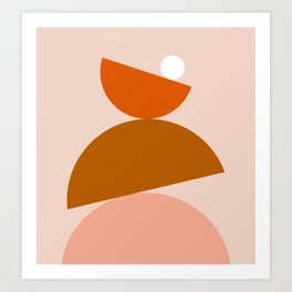 Abstraction_Color_Summer_Playful Art Print