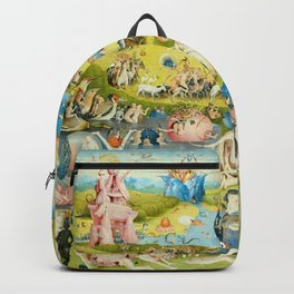 The Garden of Earthly Delights by Bosch Backpack
