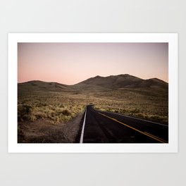 California Landscape I Art Print