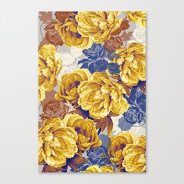 the big yellow Canvas Print