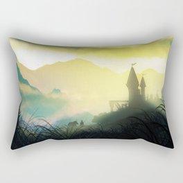 The Mountain Pass Rectangular Pillow