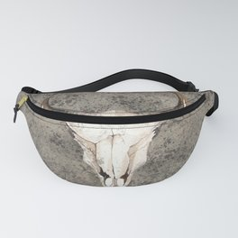 South-West Rustic Ranch Skull Fanny Pack