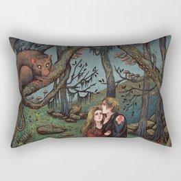 The Fire Swamp Rectangular Pillow