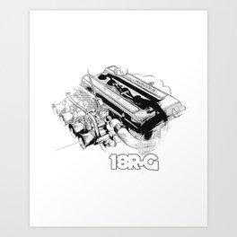 18RG Art Print
