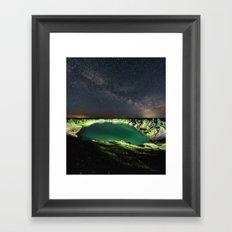 Solstice Nightfall Framed Art Print