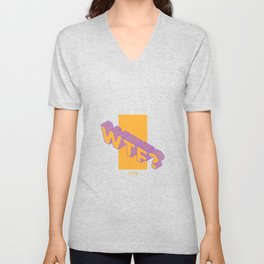 wtf? what the fuck ? Unisex V-Neck