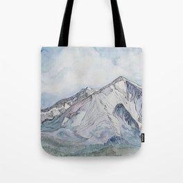 Spring  on Mount Sopris Tote Bag