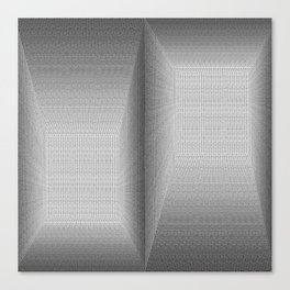 Binary Rooms Canvas Print