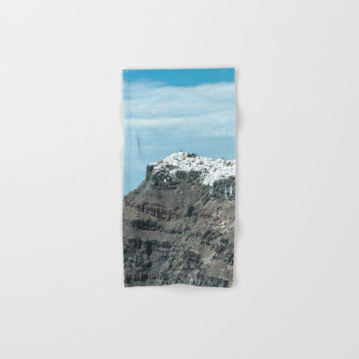 Santorini, Greece 16 Hand & Bath Towel