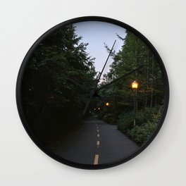 trail quebec Wall Clock
