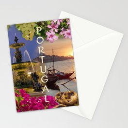 Montage Portugal Stationery Cards