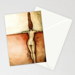 Naked woman ~ Mujer desnuda Stationery Cards