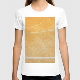 basketball court T-shirt