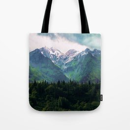 Escaping from woodland heights III Tote Bag