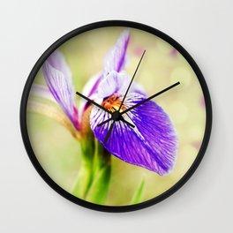 Iris (2) Wall Clock
