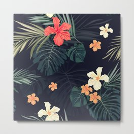 Dark tropical Metal Print