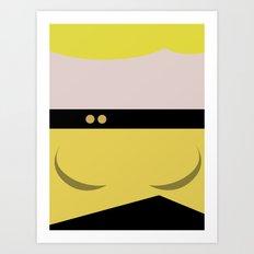 Tasha Yar - Minimalist Star Trek TNG The Next Generation  Lieutenant startrek Trektangles Art Print