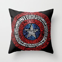 Who is Steve Rogers? Throw Pillow