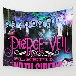 pierce the veil sleeping sirens 2021 Wall Tapestry