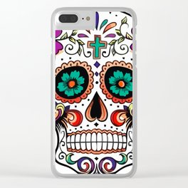 Mexican Skull Clear iPhone Case