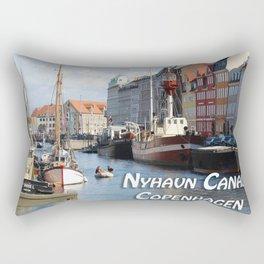 Nyhavn Canal Copenhagen Denmark Rectangular Pillow