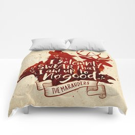 I solemnly swear Comforters