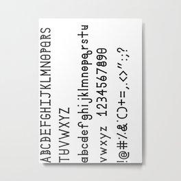 Dymond Speers Solid Version Metal Print