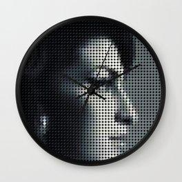 Portrait Amy Winehous I Wall Clock