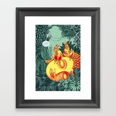 Traumzeit Framed Art Print