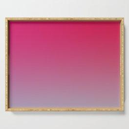 STRANGE COCKTAIL - Minimal Plain Soft Mood Color Blend Prints Serving Tray