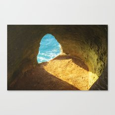 A window to the sea Canvas Print