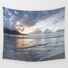 Sunset at Hanalei Bay, No. 2 Wall Tapestry