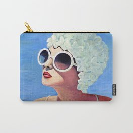 Vivian goes for a dip. Carry-All Pouch