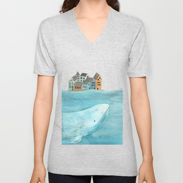 I'm here with you Unisex V-Neck