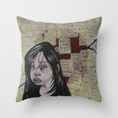 Japan, March 2011 Throw Pillow
