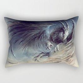 The Guardian of Dream - Art by Élian Black'Mor Rectangular Pillow