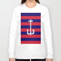 anchor Long Sleeve T-shirts featuring anchor by gzm_guvenc