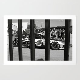 Caged Animal Art Print